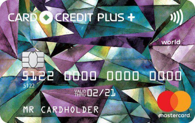 Карта Card Credit plus+