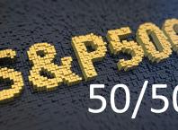 Стратегия 50/50 по SPY